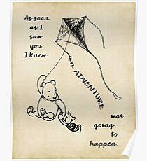 Winnie the Pooh - Adventure Poster