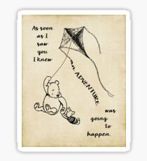 Winnie the Pooh - Adventure Sticker