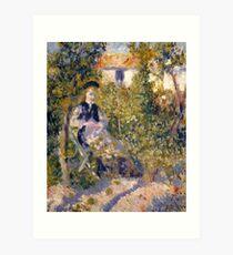 Auguste Renoir Nini in the Garden Art Print