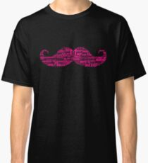 Markiplier Typography Warfstache Classic T-Shirt