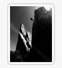 Rock Climbing Sticker