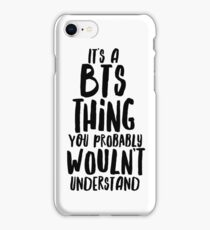 IT'S A BTS THING iPhone Case/Skin