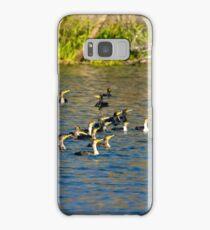 Cormorants Galore Samsung Galaxy Case/Skin