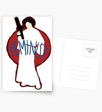 Princess Leia - Space Feminist  Postcards