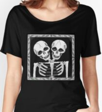 SIAMESE SKULLS VERSION TWO - Art By Kev G Women's Relaxed Fit T-Shirt