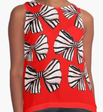 BOWS ON BOWS Contrast Tank