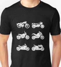 History of Ducati Motorcycles - White T-Shirt