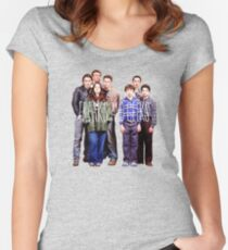 Freaks and Geeks Women's Fitted Scoop T-Shirt