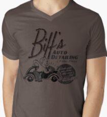 Biffs Auto Detailing Mens V-Neck T-Shirt