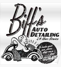 Biffs Auto Detailing Poster