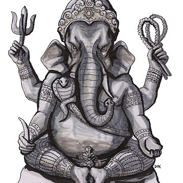 Ganesh (phra pikanet) by Dox-studio