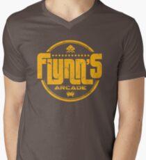 Flynns Arcade Men's V-Neck T-Shirt