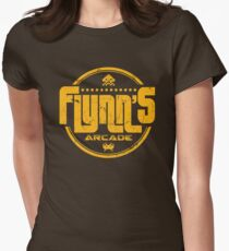 Flynns Arcade Womens Fitted T-Shirt