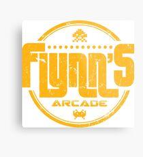 Lienzo metálico Flynns Arcade