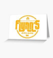 Flynns Arcade Greeting Card
