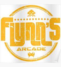 Flynns Arcade Poster
