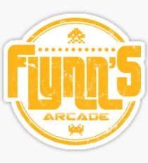 Flynns Arcade Sticker