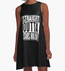 Straight Outta Stars Hollow A-Line Dress