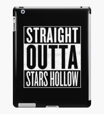 Straight Outta Stars Hollow iPad Case/Skin