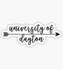 University fo Dayton Sticker