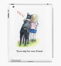 Puppy Love Fur-ever Friend iPad Case/Skin