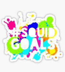 SPLATOON - #SquidGoals Sticker