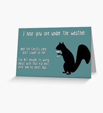 sick friend greeting cards redbubble