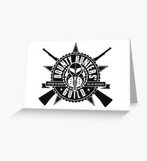 Bounty Hunters Guild Greeting Card