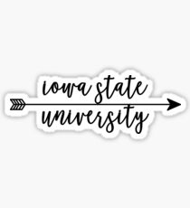 Iowa State University Sticker