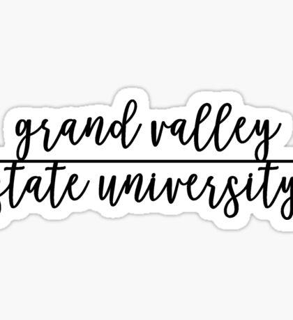 Grand Valley State University Sticker