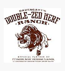 Davengatts Double-Zed Nerf Ranch Photographic Print