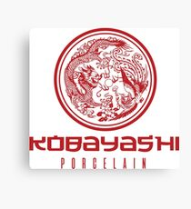 Kobayashi Porcelain Canvas Print