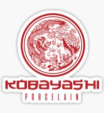 Kobayashi Porcelain Sticker