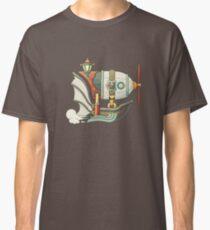 Steampunk airship Classic T-Shirt