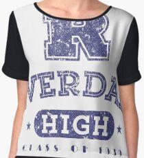 Riverdale High Chiffon Top