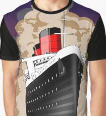 Queen Mart Art Deco w/ Sky Graphic T-Shirt
