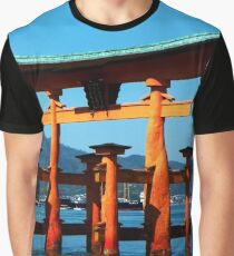 The Floating Torii Gate Graphic T-Shirt