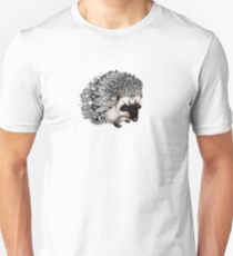 Zentangle Hedgehog Unisex T-Shirt