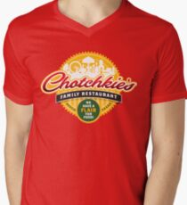 Chotchkies Family Restaurant Men's V-Neck T-Shirt