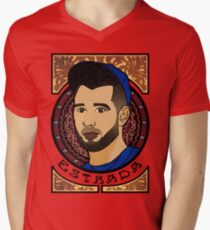 Marco Estrada - Art Nouveau Men's V-Neck T-Shirt