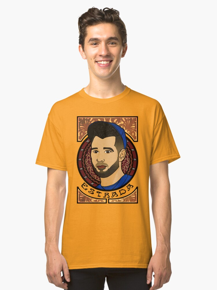 Marco Estrada - Art Nouveau Classic T-Shirt Front