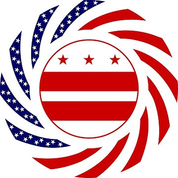 DC Murican Patriot Flag Series by carbonfibreme