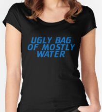 Ugly Bag of Mostly Water Women's Fitted Scoop T-Shirt