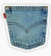 Levi's Denim Jeans Sticker