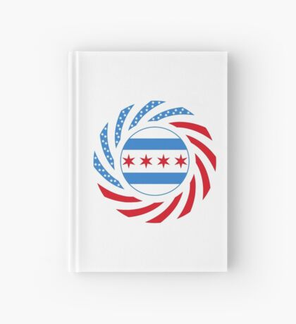 Chicago Murican Patriot Flag Series Hardcover Journal
