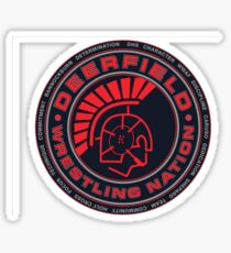 Deerfield Wrestling Gear Sticker