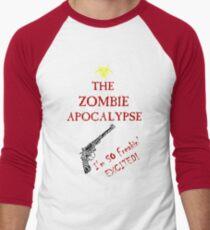 Zombie Apocalypse - Freakin' Excited! Men's Baseball ¾ T-Shirt