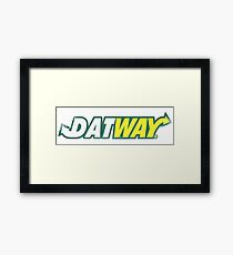 Datway Framed Print