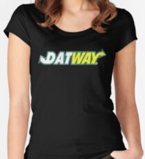 Datway Women's Fitted Scoop T-Shirt
