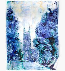 Duke Chapel- Duke University Poster